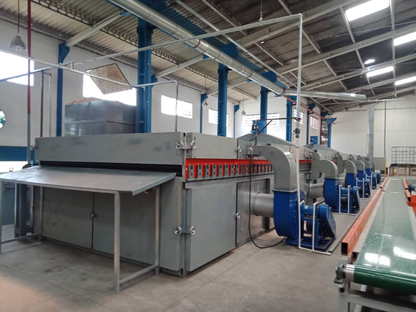 24m 1Deck Veneer Dryer