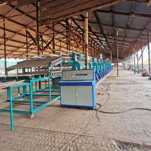 Face Plywood Dryer Machine Introduction