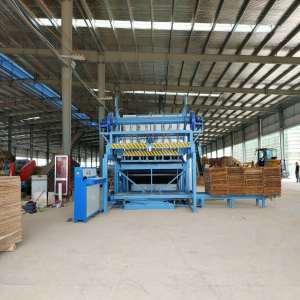 High Capacity 36M 4Deck Roller Veneer Dryers