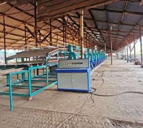 2 Deck Biomass Type Veneer Roller Dryer Description