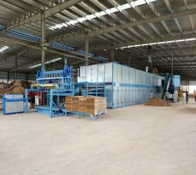 ​High Capacity 36M 4Deck Veneer Roller Dryer Machine