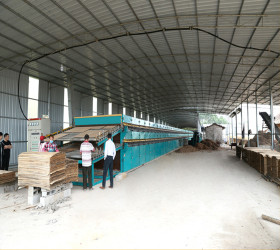 2 Layer Wood Veneer Roller Dryer Machine Introduction