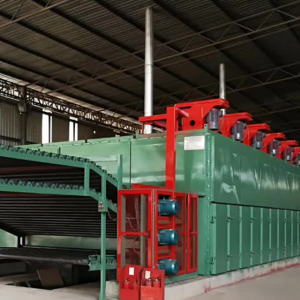 Layers Roller Type automating feeding for veneer dryer plywood production line