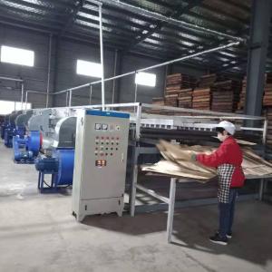 continuous veneer dryer line plywood machine