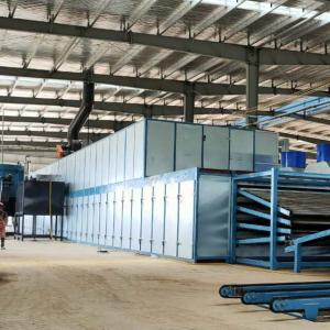 woodworking machinery continuous veneer dryer technology