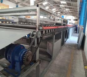 continuous roller veneer dryer feeder machine