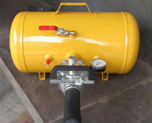 Tanque de ar para seladora instantânea de inflação de pneus