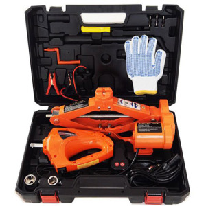 1.5 Ton DC 12V electric car repair tool car mini jack scissors jack