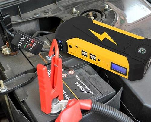 12V Portable Battery Power Bank Car Jump Starter