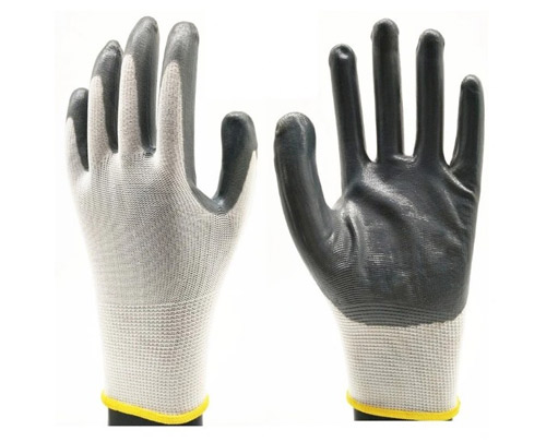Thickened 9g Fish Scale Glove for Automobile Industry