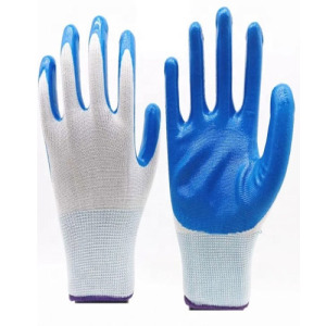 L Size 9g Super Strong Nitrile Glove