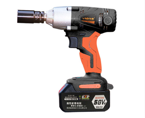 Rechargeable Li-ion battery cordless impact wrench