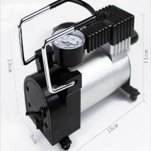 Portable Car tire inflator pump / Auto 12V Electric Air Compressor