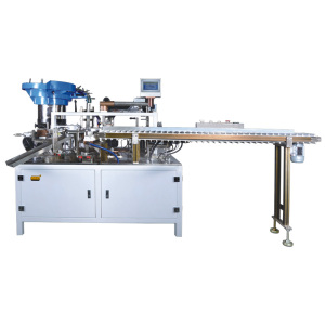 Automatic top sealing and capping machine