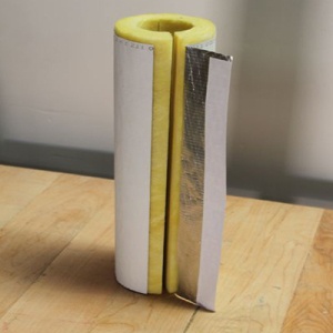 Aluminum Foil Coated Glass Wool  Pipe