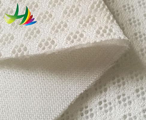 China Supplier 3d spacer regular 270gsm mesh air shoe fabric mattress 8mm Oem Factory Price
