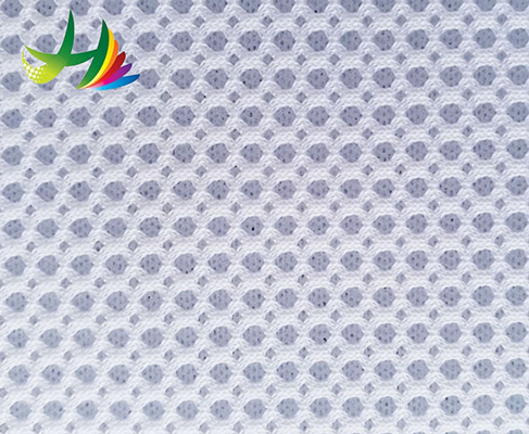 High Quality Eyelet Polyester Air Mesh Office Furniture Material Fabric