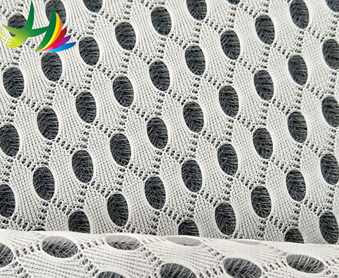 100% polyester thick knitted 3D air mesh fabric for the chair