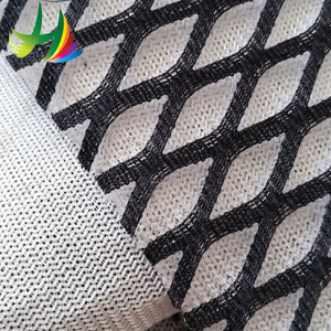 High quality cheap mock mesh fabric with custom logo