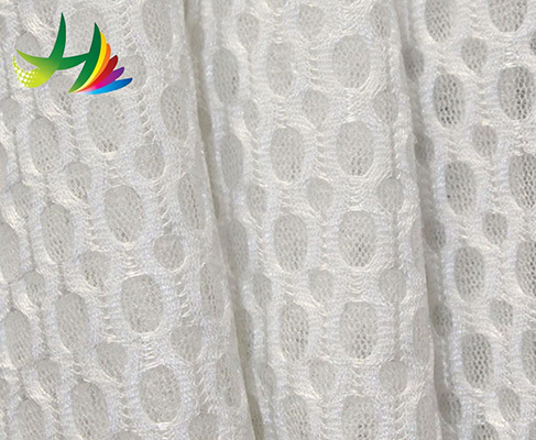 low price high quality printed thick polyester 3d mesh fabric