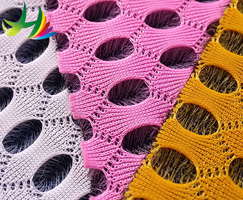 the supplier with colorful polyester Nylon air mesh fabric for home textile or mattress in china market