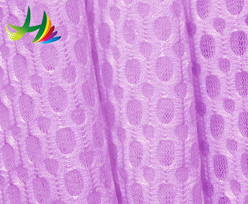 factory wholesale dacron stretch mesh fabric for blanket