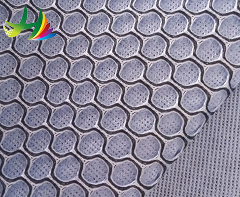 high quality sandwich air mesh fabric polyester for shoes men