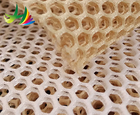 air spacer sandwich mesh fabrics for sport shoes and mesh cap for more popular with consumer