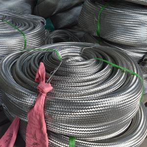 Metal braided mesh sleeve
