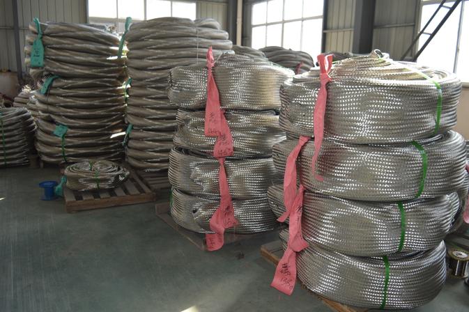 Stainless steel bellows net sleeve