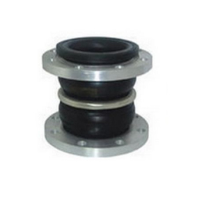 Double sphere rubber compensator