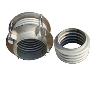 Pressure vessel expansion joint
