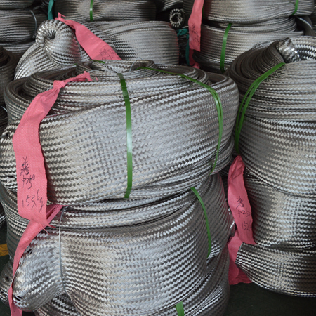 Stainless steel bellows net sleeve