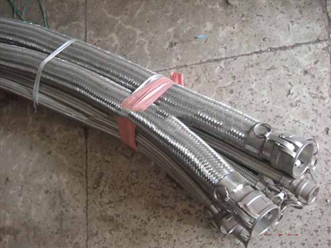 Quick connector metal hose