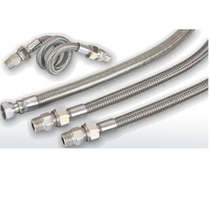 Net sleeve stainless steel bellows