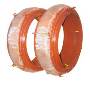 Circular non-metallic compensator
