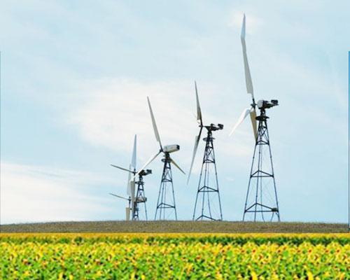 Các trang trại gió