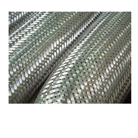 Stainless steel braided mesh sleeve