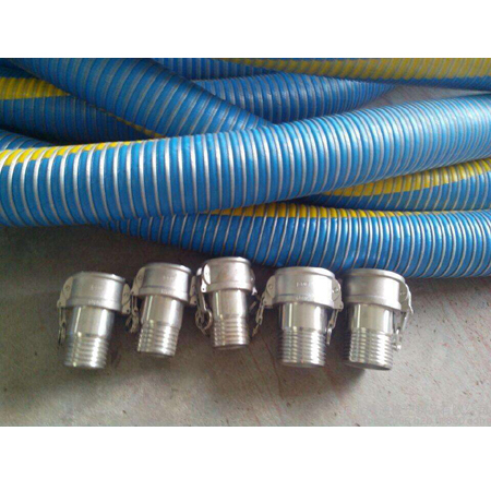 Metal resin composite high pressure hose