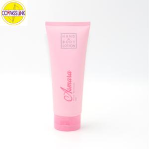 Transparent cosmetic Tubes
