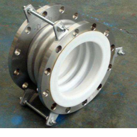 Steel-lined PTFE expansion joint