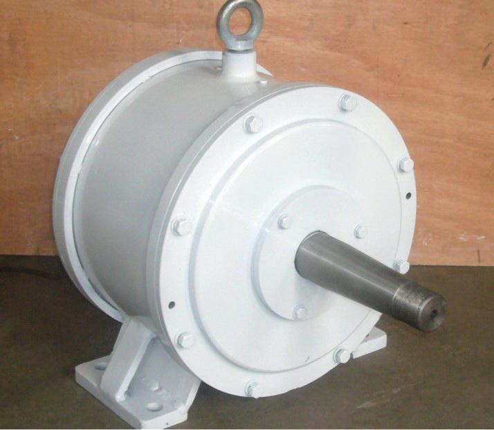 Générateur horizontal à aimants permanents