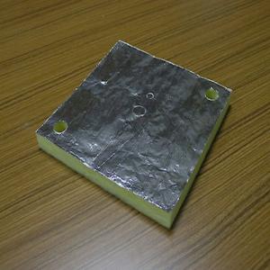 Aluminum foil plaid tape