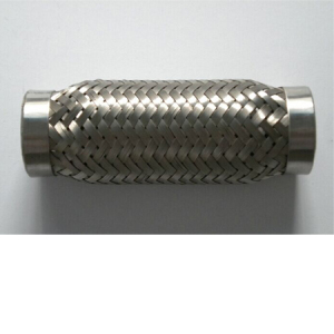 Corrugated exhaust pipe