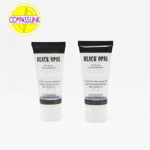 Proveedor de tubo cosmético transparente