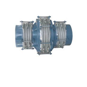 Straight tube pressure balanced expansion joint