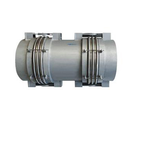 Hinged transverse type bellows expansion joint