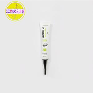 Skin whitening cream packaging plastic tube