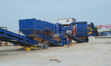 high quality Scrap crusher