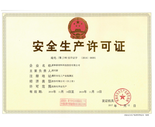 Original Safety Production License - (new name)